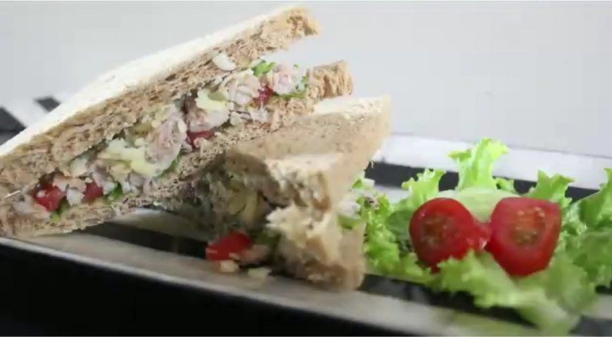 Swimmer Crab Sandwich
