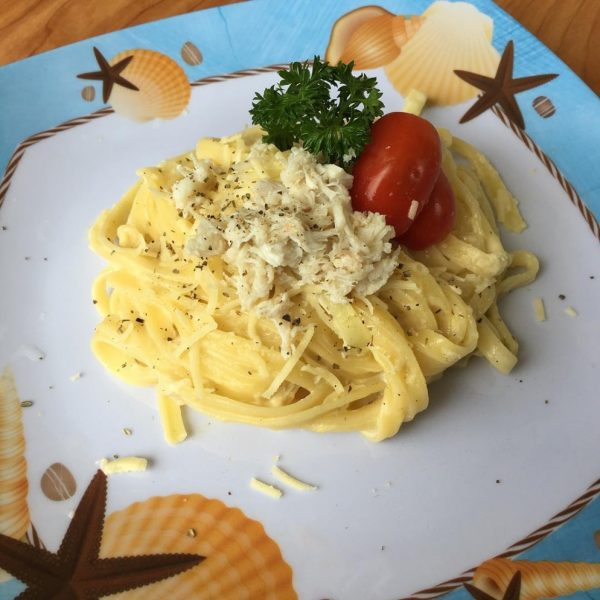 How to Cook Jumbo Lump Crab - Swimming Crab Fettucini