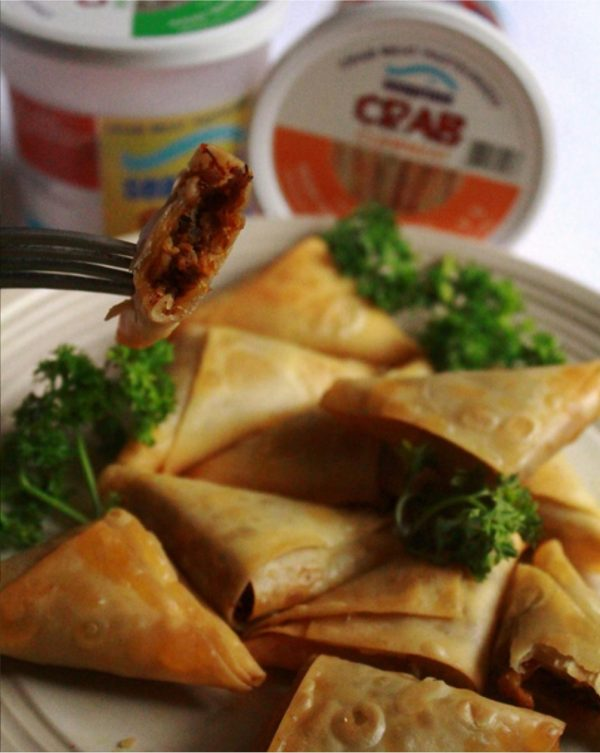 Jumbo Crab Cakes - Swimming Crab Samosa