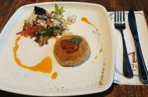 Crab Cakes that Suitable for Provision of School Children