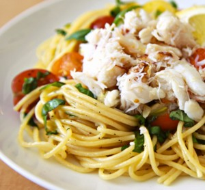 Lump Crab Meat with Pasta by Seaprime